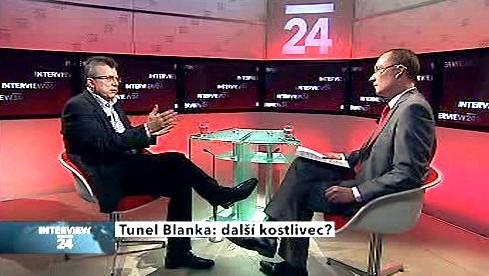 Interview ČT24 s Janem Kaslem