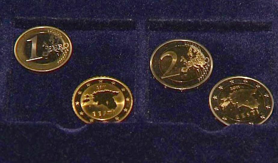 Estonské euromince