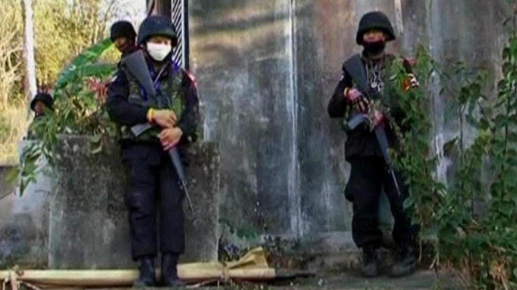 Kambodžští vojáci