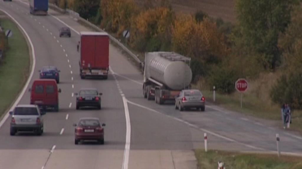 Nájezd na dálnici