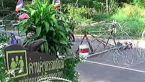 Hranice mezi Thajskem a Kambodží