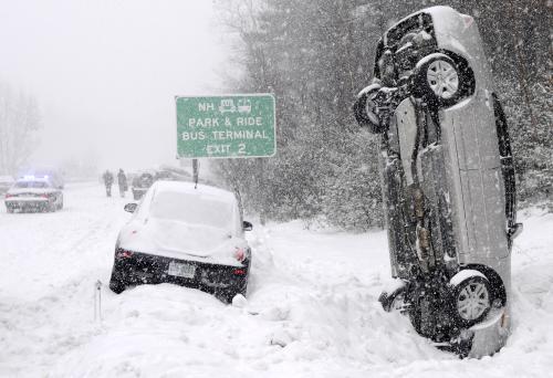 Dopravní kalamita v New Hampshire