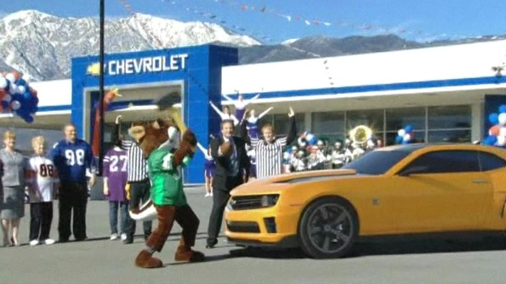 Reklama na Chevrolet