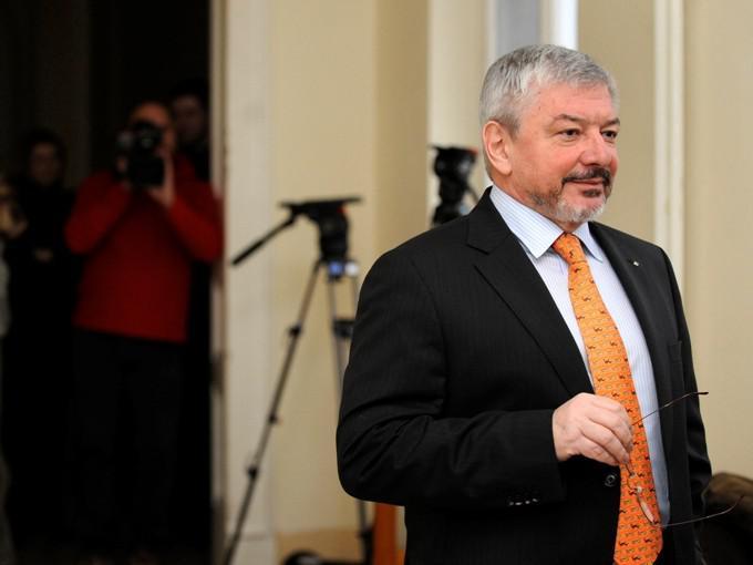 Vladimír Železný u soudu