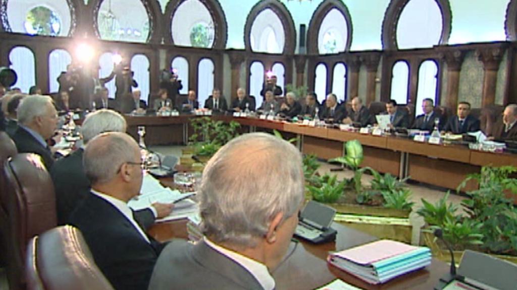 Zasedání alžírské vlády