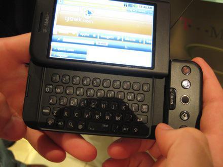 Mobilní telefon G1 Android