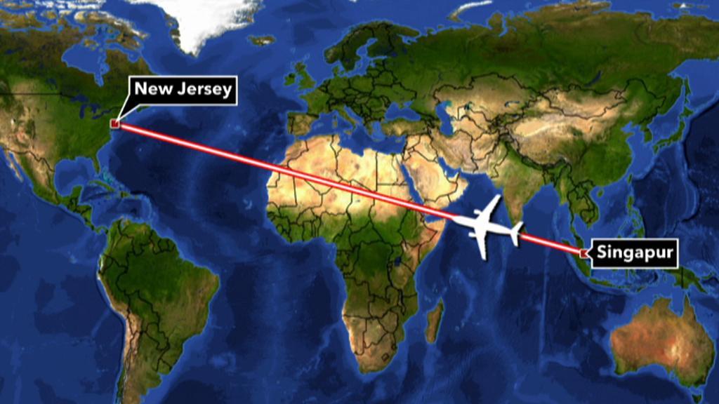 Nejdelší pravidelná letecká linka