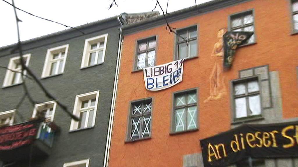 Squat v Liebigstraße 14