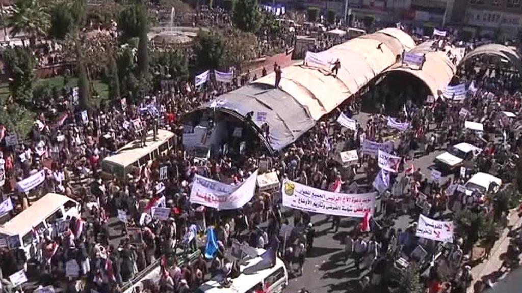 Demostrace v Jemenu