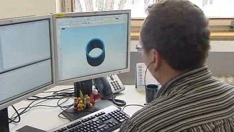 Projektant při práci
