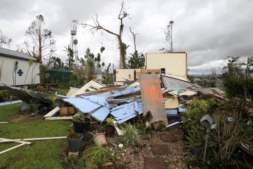 Cyklon Yasi pustošil Queensland