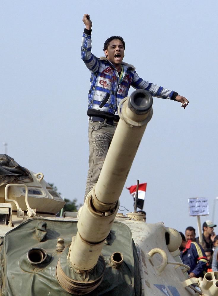 Válka v ulicích Káhiry