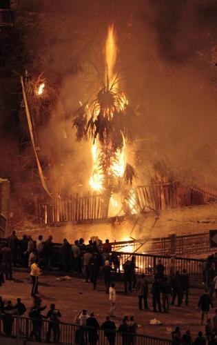 Násilnosti v Káhiře