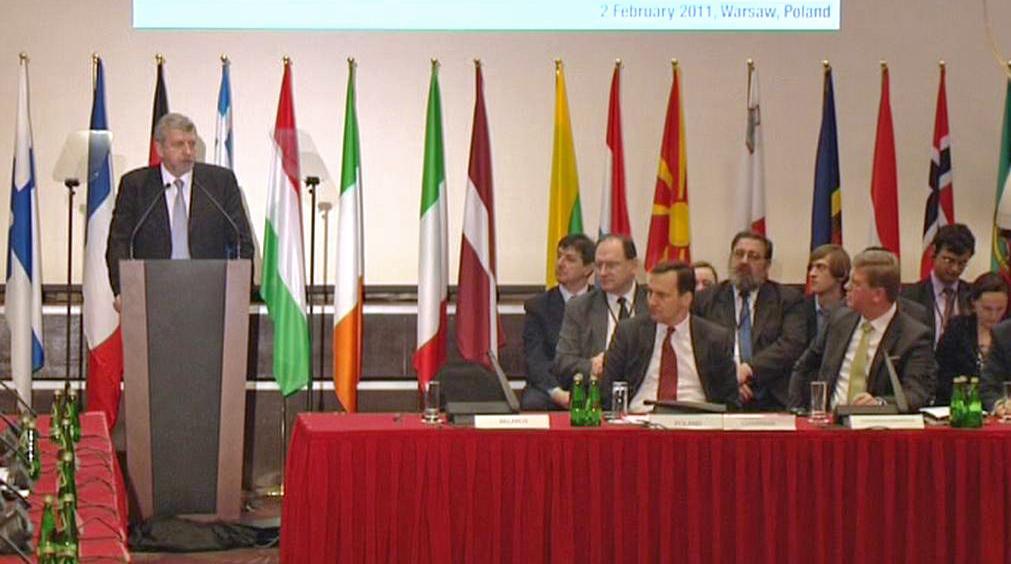 Varšavská konference o pomoci běloruské opozici