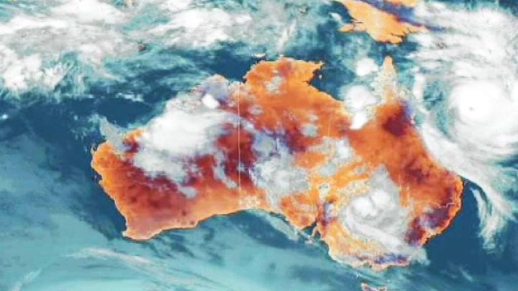 Cyklon Yasi nad Austrálií