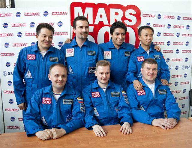 Účastníci mise Mars 500