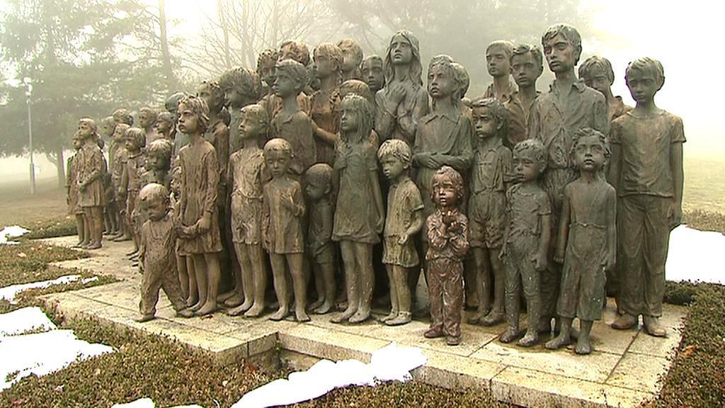 Pomník dětských obětí války v Lidicích