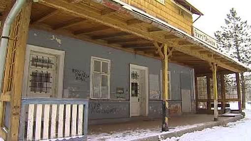 Nádraží v Horním Slavkově