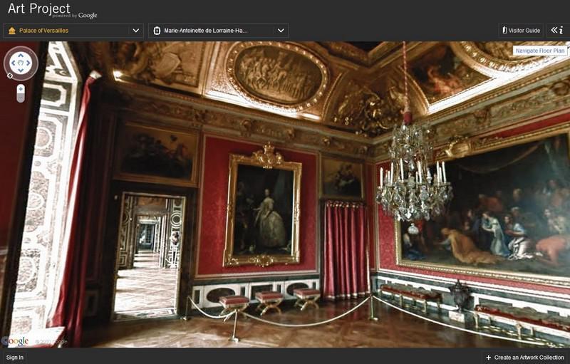 Google Art Project / palác Versailles