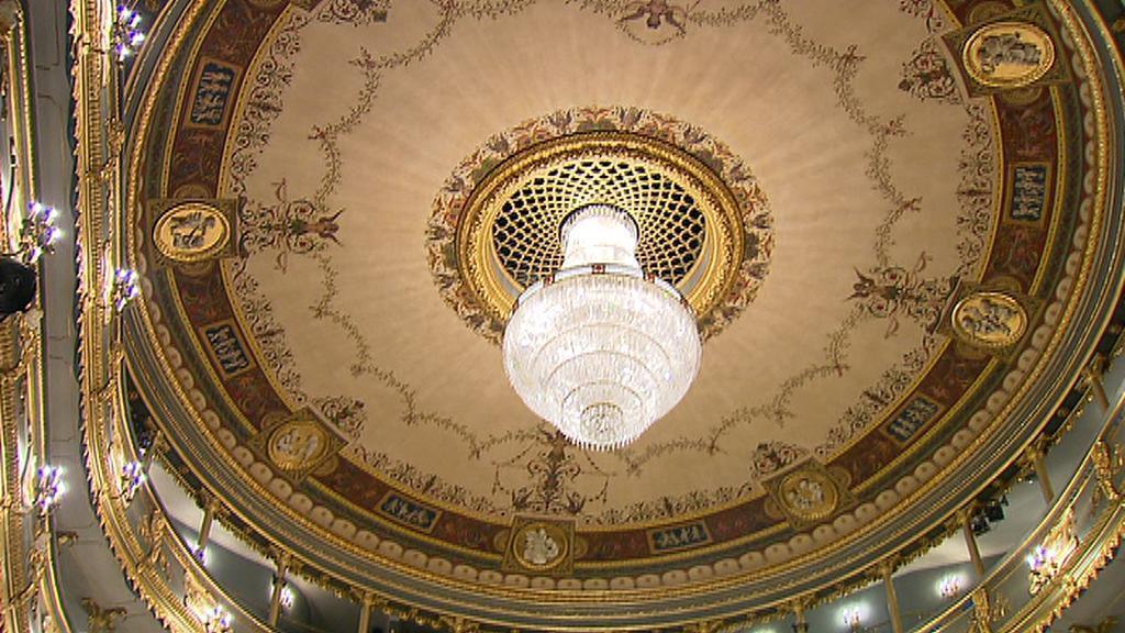 Stavovské divadlo / strop
