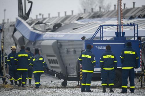 Nehoda vlaku u Magdeburku