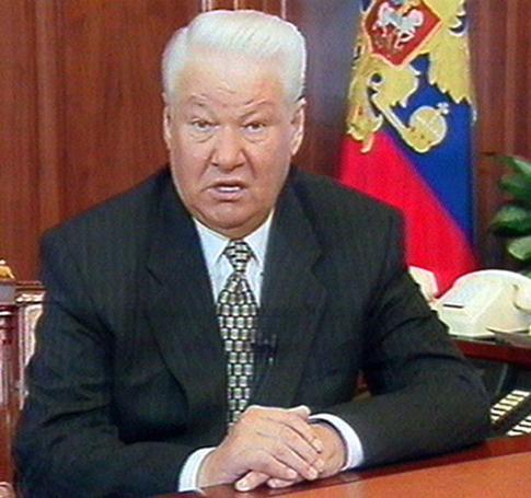 Boris Jelcin.