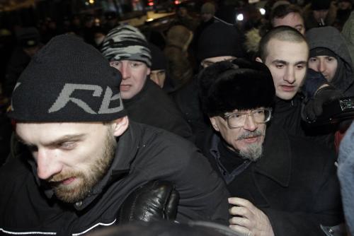 Předák ruské opozice Eduard Limonov