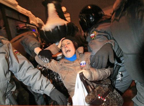 Demonstrace na obranu 31. článku ruské ústavy