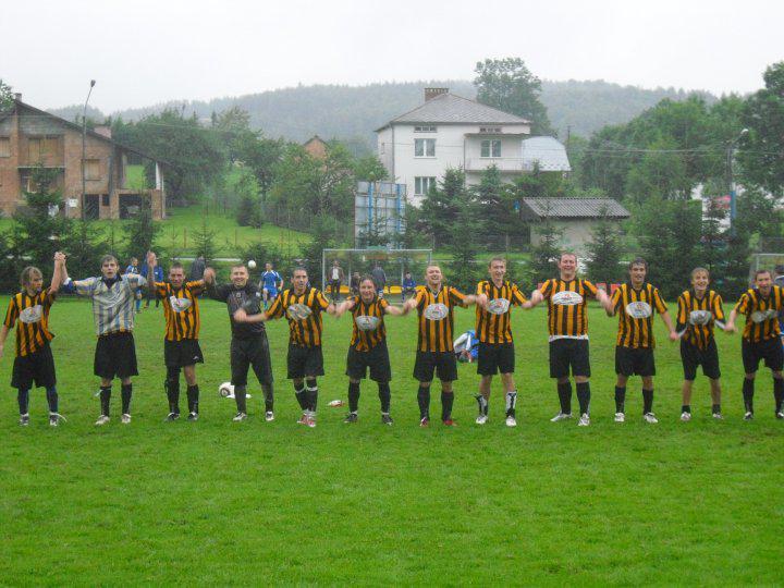 Rozsochy - fotbalové mužstvo