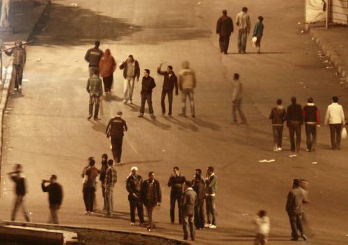 Protesty v Egyptě
