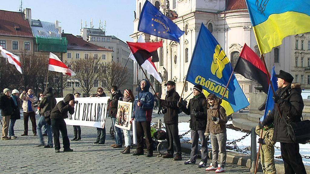 Protesty proti Bělorusku