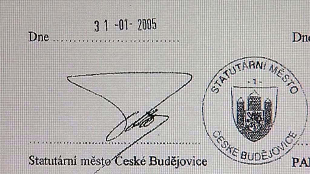 Smlouva města České Budějovice