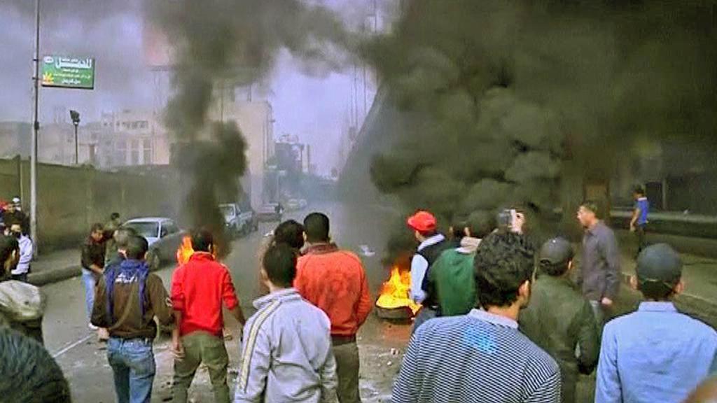 Pouliční protesty v Egyptě