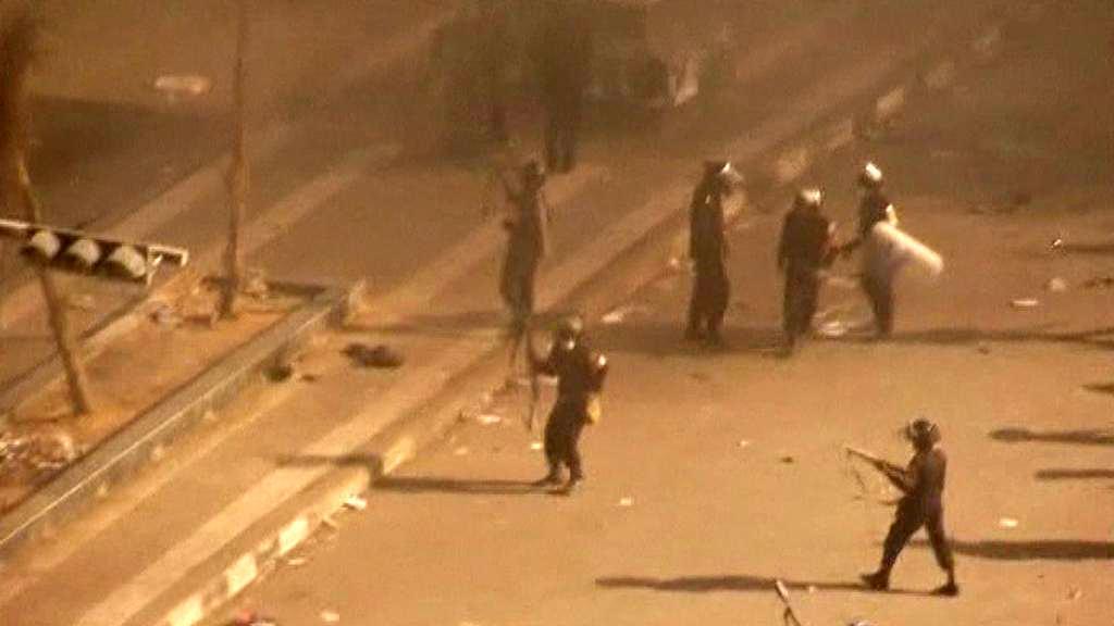 Pouliční nepokoje v Egyptě