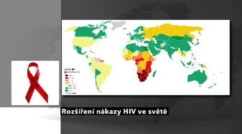 HIV ve světě