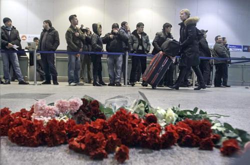 Smutek na letišti Domodědovo