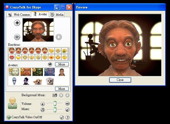 Profil v programu Skype