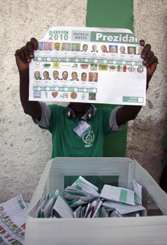 Volby na Haiti