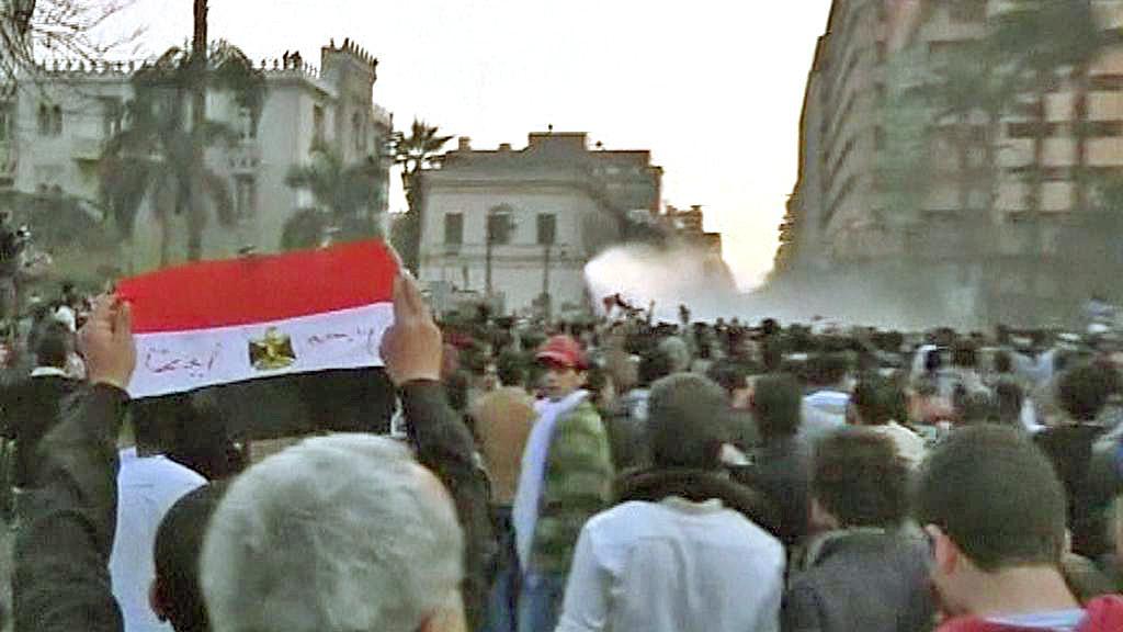Egyptská policie zasahuje proti demonstrantům