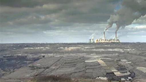 Krajina zničená průmyslovou činností