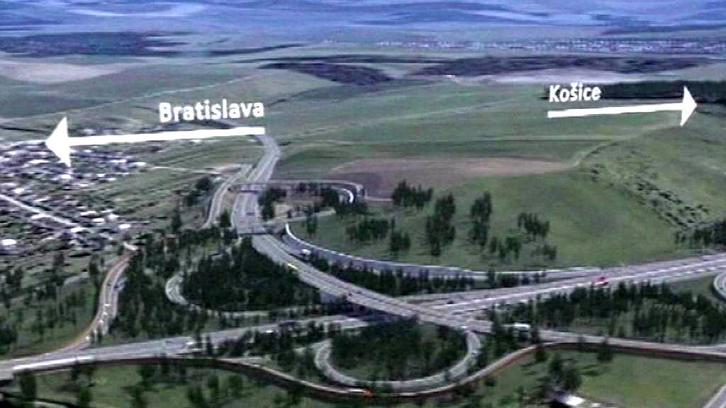 Dálnice z Bratislavy do Košic