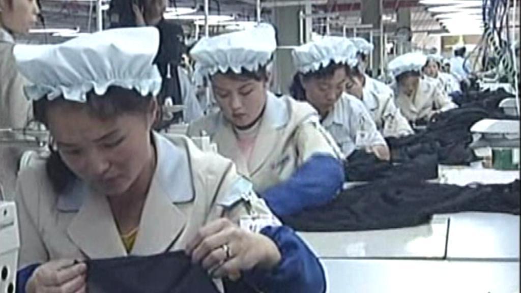 Severokorejské švadleny