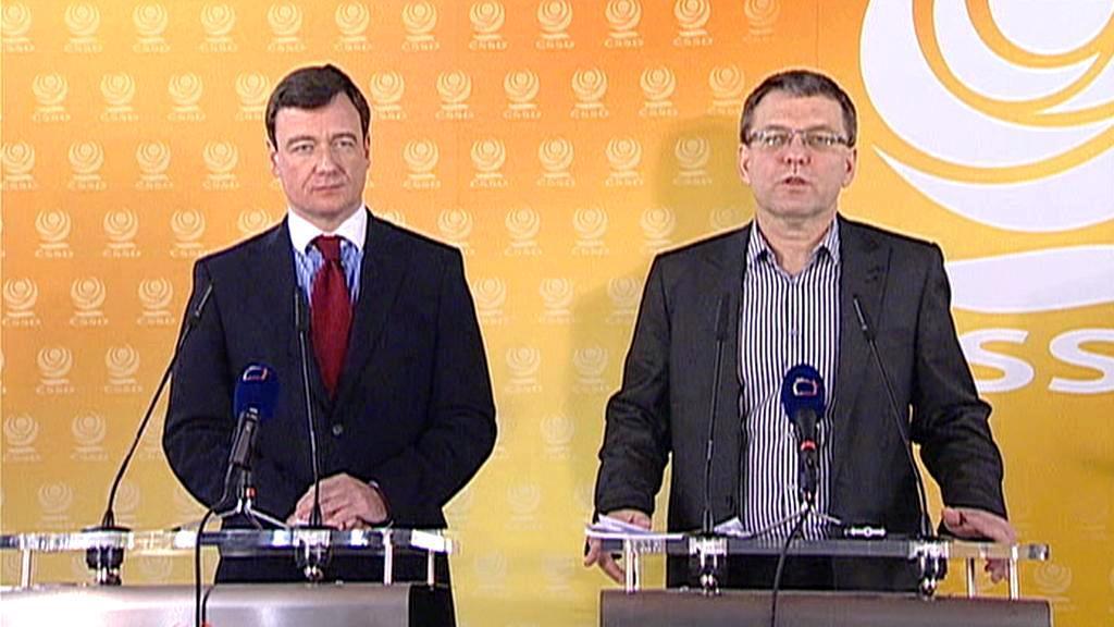 David Rath a Lubomír Zaorálek