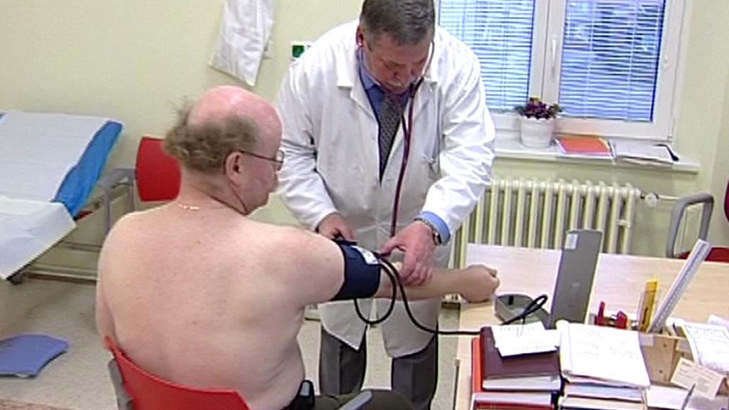 Pacient v ordinaci