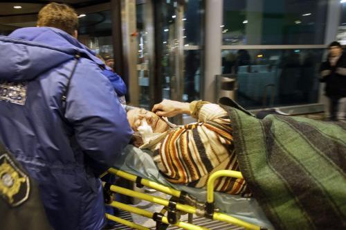 Výbuch na moskevském letišti Domodědovo