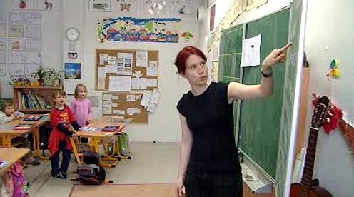 Učitelka na základní škole