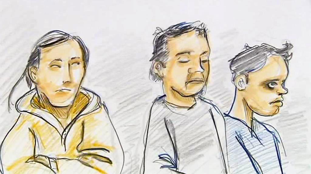 Hardi Han, Abdul Rasjid a Supriyadi před soudem