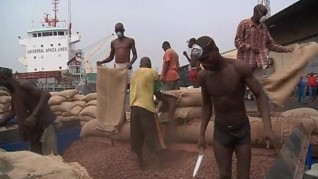 Vývoz kakaa
