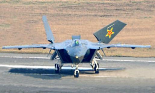 Čínské letadlo J-20