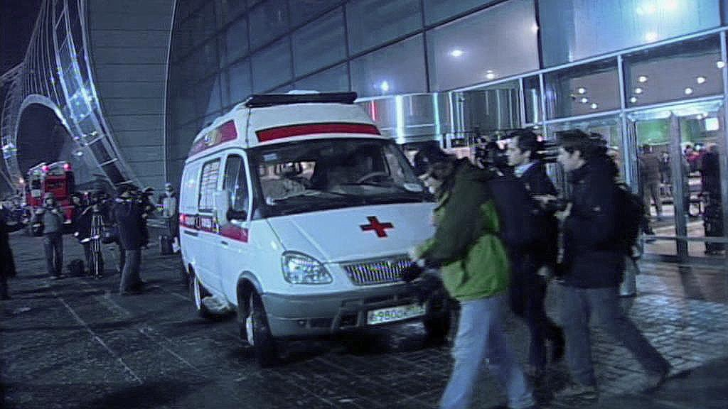 Výbuch na letišti Domodědovo